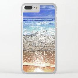 Salt Life Clear iPhone Case
