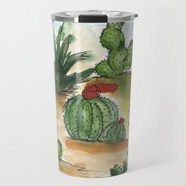 Cactus Cactus Cactus Travel Mug