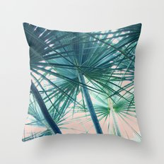 Tropical Palm #society6 #buyart #home #lifestyle Throw Pillow