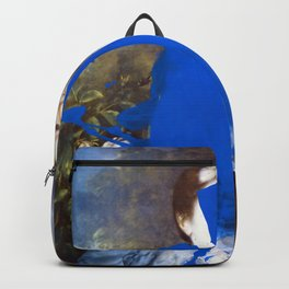 Blue Bomb Backpack