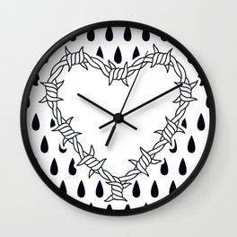 Love you (variation 05) Wall Clock