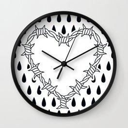 Love you (variation 05) Wall Clock
