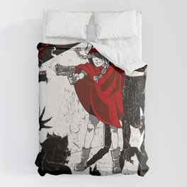 Red Riding Hood Reloaded Comforters