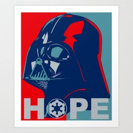 Darth Vader 2016 Art Print