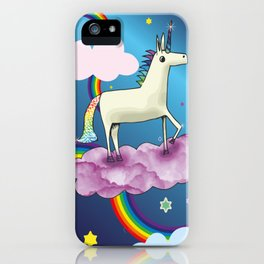 Life is all Rainbows and Unicorns iPhone Case