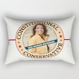 Constitutional Conservative Michele Bachmann Rectangular Pillow