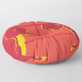 80s TEEN MOVIES :: SIXTEEN CANDLES Floor Pillow