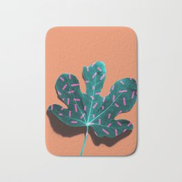 Tropical Leaf #02 Bath Mat