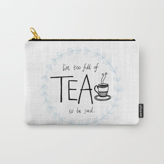 Full of Tea Carry-All Pouch