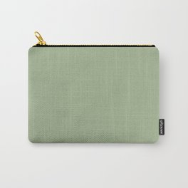 Sea Green Solid Matte Colour Blocks Carry-All Pouch