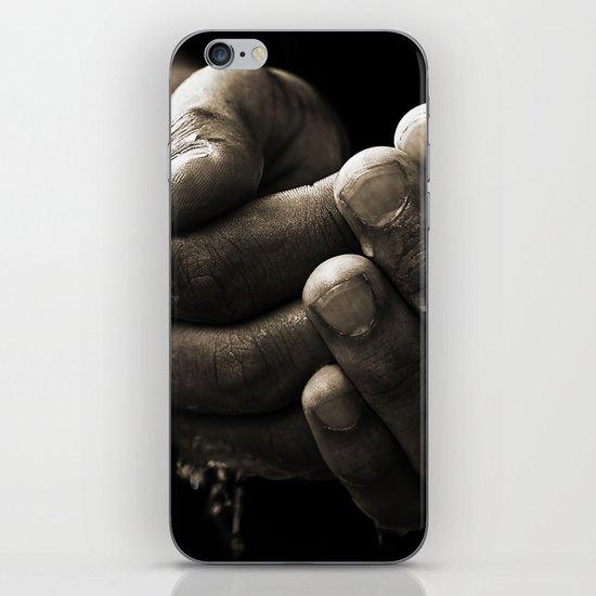 hands iPhone & iPod Skin