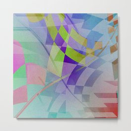 Multicolored abstract no. 68 Metal Print