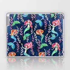 Merry Mermaids in Watercolor Laptop & iPad Skin