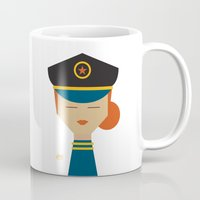 pilot Mugs featuring Pilot by Page 84 Design