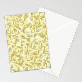 Golden Doodle weave Stationery Cards