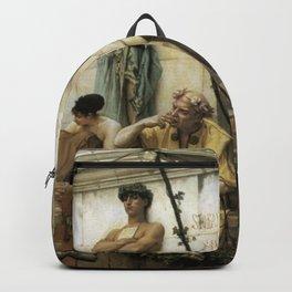 Gustave Boulanger - The Slave Market Backpack