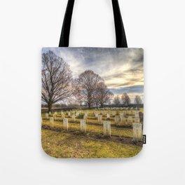 World War 2 War Graves Budapest Tote Bag