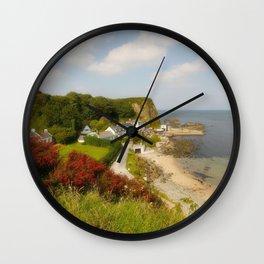 The Little Port Wall Clock