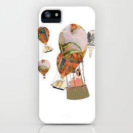 Hot Air Balloon Dream iPhone Case