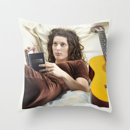 TN Music Print 10.1.11.17.15 Throw Pillow