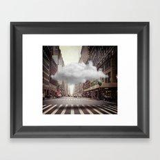 Under a Cloud II Framed Art Print