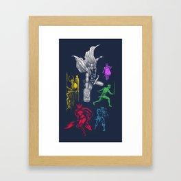 Thororama Framed Art Print