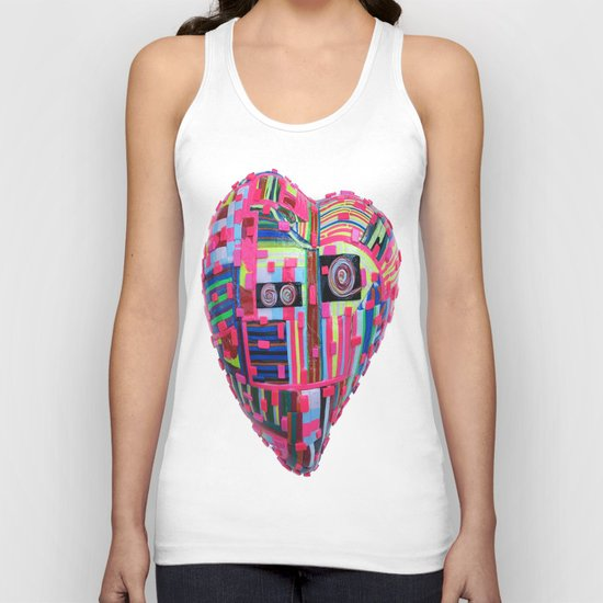 Sweet Heart Unisex Tank Top