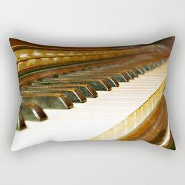 That Old Piano  Rectangular Pillow