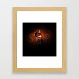 community services Framed Art Print
