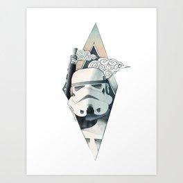 Graphic Storm!@#$#er Illustration Art Print