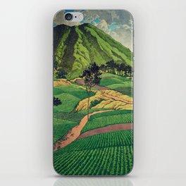 Crossing people's land in Iksey iPhone Skin