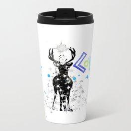 deer LOVE Metal Travel Mug