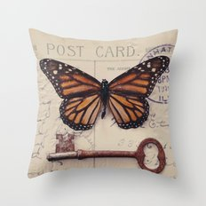 Butterfly no. 1 Throw Pillow