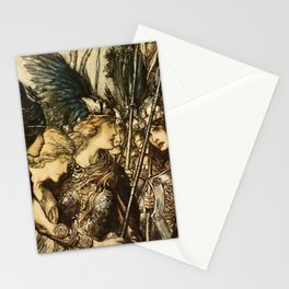 """""""Sisters, Your Help!"""" by Arthur Rackham Stationery Cards"""