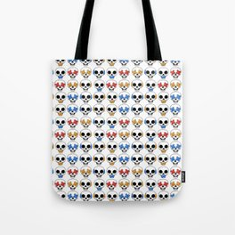Cute Skulls No Evil II Pattern Tote Bag