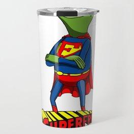 Kermit the Superman Travel Mug