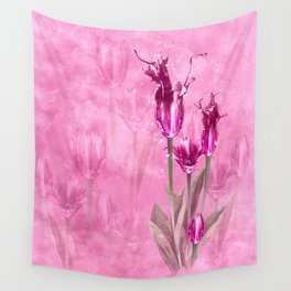 Fairy Tulip Wall Tapestry