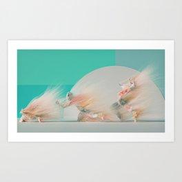 Break Down (The Dance Floor) Art Print