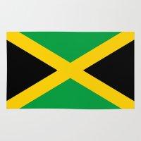 jamaica Area & Throw Rugs featuring Jamaica by RickART