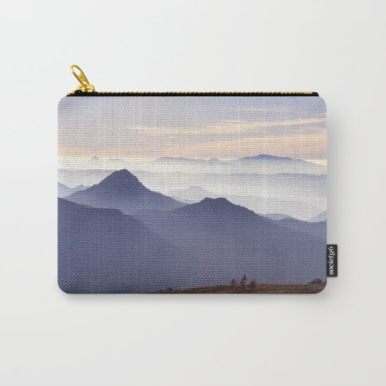 """""""Sunset at the mountains III"""" Carry-All Pouch"""