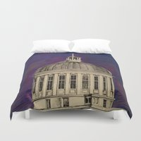 montreal Duvet Covers featuring Montreal by Shazia Ahmad