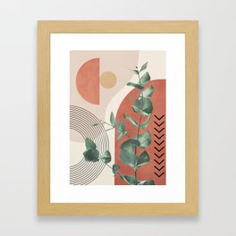 Nature Geometry IV Framed Art Print