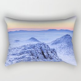 Frozen lands Rectangular Pillow