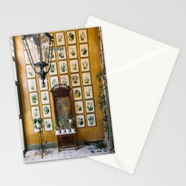 A Wall of Orchids, Merida, Mexico Stationery Cards