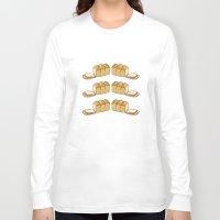 bread Long Sleeve T-shirts featuring bread by Jaeyun Woo