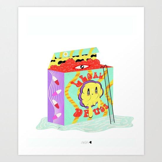 vitamina Art Print