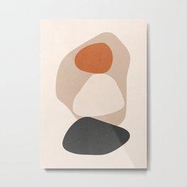 Minimal Abstract Art 32 Metal Print