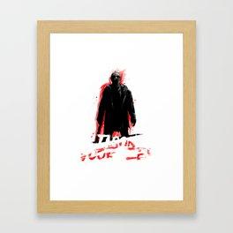 Jason Voorhees In shadow Framed Art Print