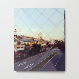 FARRIS WHEEL (OSAKA) Metal Print
