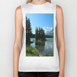 Island In the Lake Biker Tank